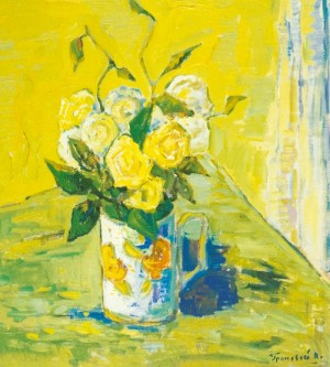 Still Life, 2005, oil on canvas, 85x75