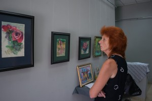 SERHII HALAI PRESENТED HIS PERSONAL EXHIBITION IN VYNOGRADIV