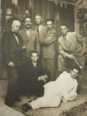Бокшай Й., Манайло Ф., Коцка А., Свида В., Ерделі А., Контратович Е., Петкі П., сер. 1940