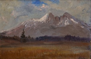 'View Of The Tatras Mountains', 1935, oil on cardboard, 28x44.jpg