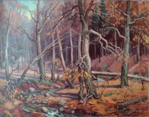 'Autumn In Forest'