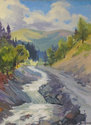 Дорога на Драгобрат, 2011, к.о., 80х60
