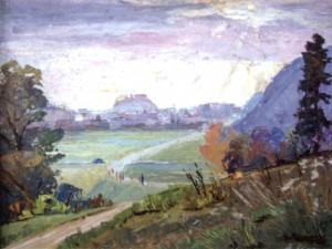Вид з Красної гори, 1975, к.о., 55х65