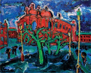 'Odesa Opera House', 2011, oil on canvas, 80х100