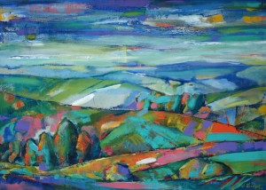 Verkhovynas Landscape