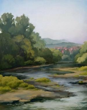 Uzhhorod Etude, 2015, oil on canvas, 40х60