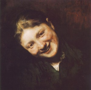 Laughing Girl, 1883