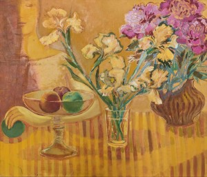 O. Kondratiuk Bouquets. Diptych