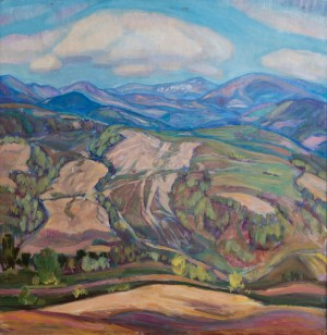 E. Kontratovych  Mountain landscape