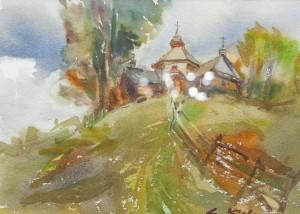 Ковач А. 'Ясінянська церква', 2017
