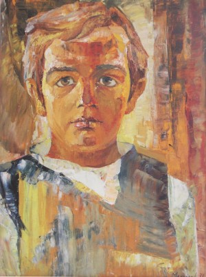 Andriiko oil on canvas, 1973