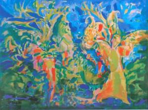 Метелик, 2008, п.о., 90х120
