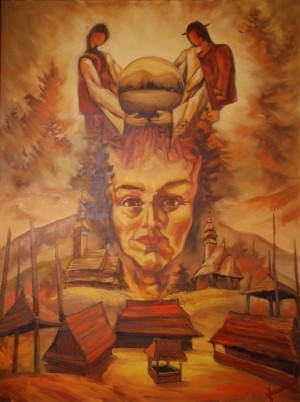 Легенда Синевиру, 1994, п.о., 100х80