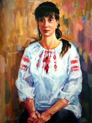 Портрет Ніни, 2013, п.о., 71х55,5