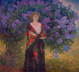 Lilac, 1978, oil on canvas