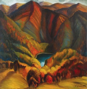 Синевирське озеро, 1986, п о 70х80