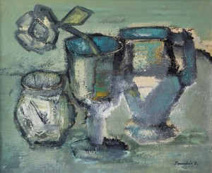 Still Life, 2007, oil on canvas, 45x55