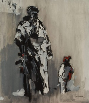 Oleh Drobotskyi. Improvisation. 2017. 60х70