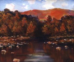 Осінній пейзаж, 1982, 50x60