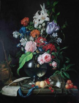 Кругла ваза, п.о., 80х60