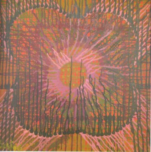 Composition, 1996, oil on canvas, 65x65
