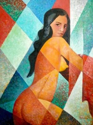 'Оголена', 2011, 80х60