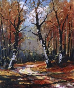 Осінній пейзаж, 1983, 70x60