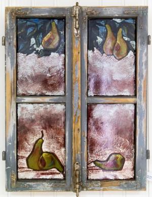 Тимко В. Вікно. Осіннє гніздо, 2017