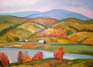 Autumn In The Carpathians', 60x80