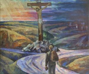 На роздоріжжі, 1993, п.о.т. 99х119