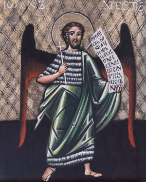M. Skop St. John the Baptist', board, tempera, 30x37