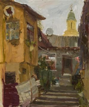 Marna Zevako.Cityscape. 2017. 50х60