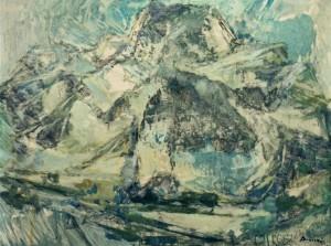 Засніжені Татри, 1980, к.о., 60х80