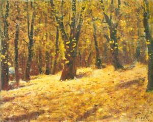 Осінь у Карпатах, 1991, 60x85