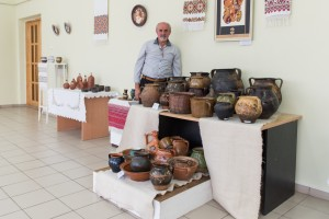 Exhibition of compositions of decorative and applied arts of the artists of the region