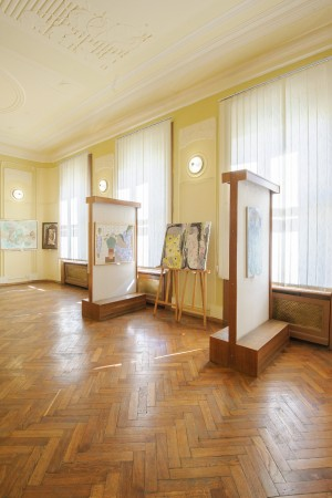 "THE TRANSCARPATHIAN ARTISTS PRESENTED THE PROJECT ""ART UNITES UKRAINE"" IN CHERNIVTSI"