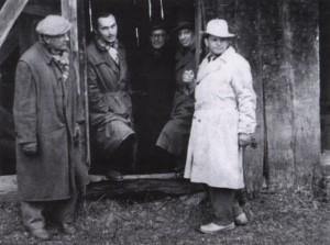 Z. Sholtes, A. Kashshai, G. Gluk, A. Boretskyi, A. Marton, the 1950s