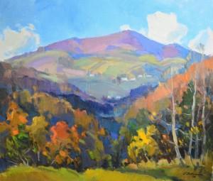 'Autumn Mood', 2014, oil on canvas 60x70