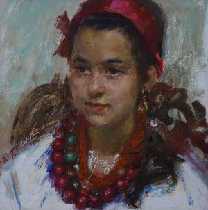 K. Biletina Young girl, c.о. 2014