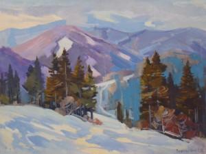 Зима, 2013, к.о., 60х80