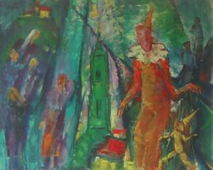 Веселе місто, 2003, п.о., 90х120