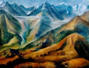 В горах Киргизії