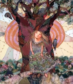 Зачудована весна, 2005, 81х70