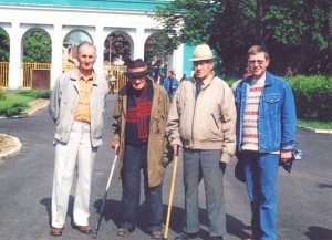 E. Kontratovych (Second from the left)