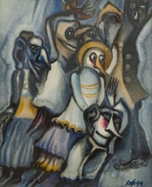 P. Feldeshi Untitled', 1994