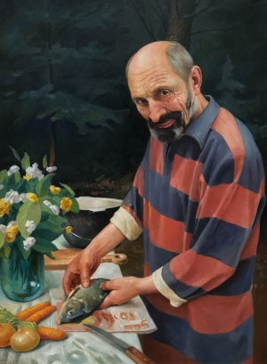 'There Will Be Soup', 2011, oil on canvas, 80x60