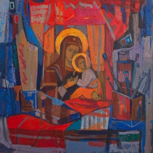 V. Mykhailov 'Still Life With The Icon'