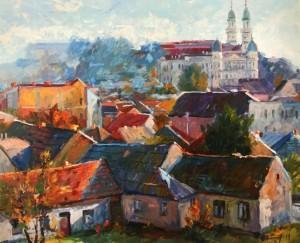 Старий Ужгород, 2014, п.о., 81х100