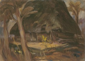 The Last Ray, 1994, oil on canvas,  50х70