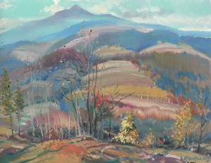 Пізня осінь, 2009, п.о., 60х80